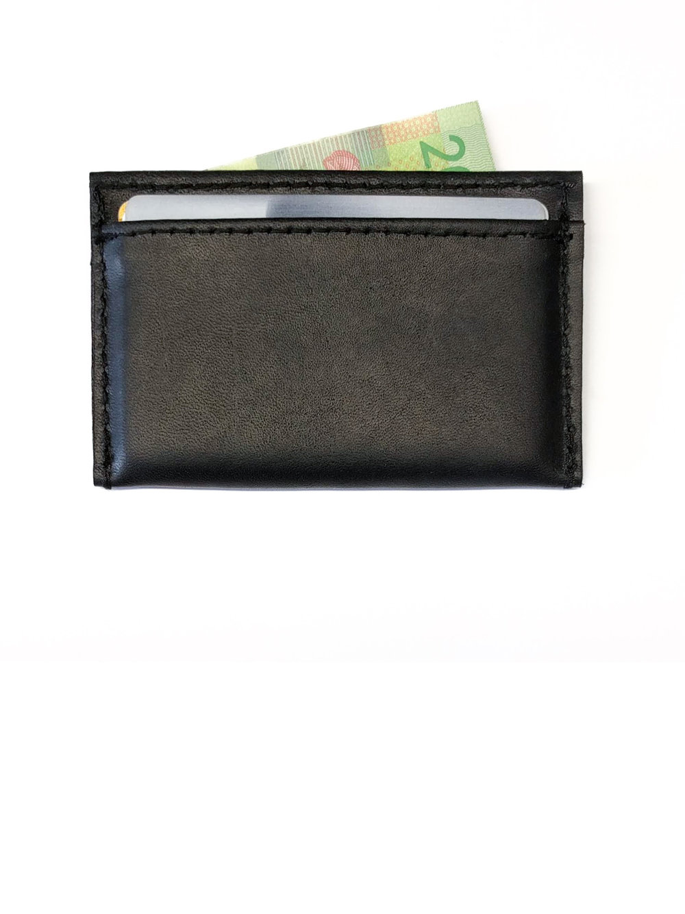 Leather card case - 30.00$