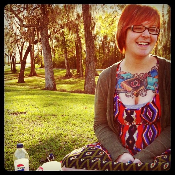 One of the first photos I ever took of Sarah, back in 2011. *vintage* Also one of my nearest and dearest friends in the whole world.