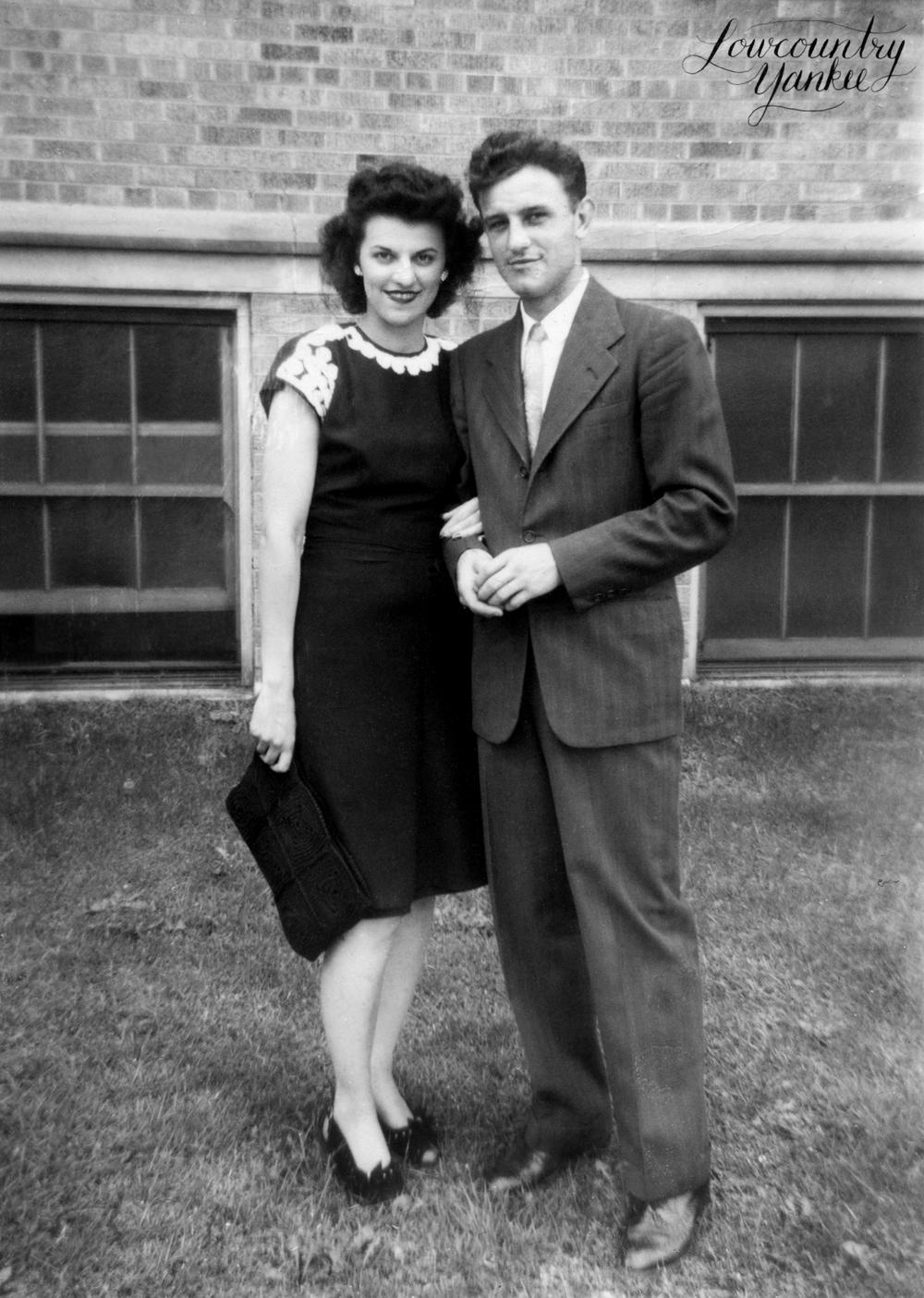 G-ma & g-pa around 1946