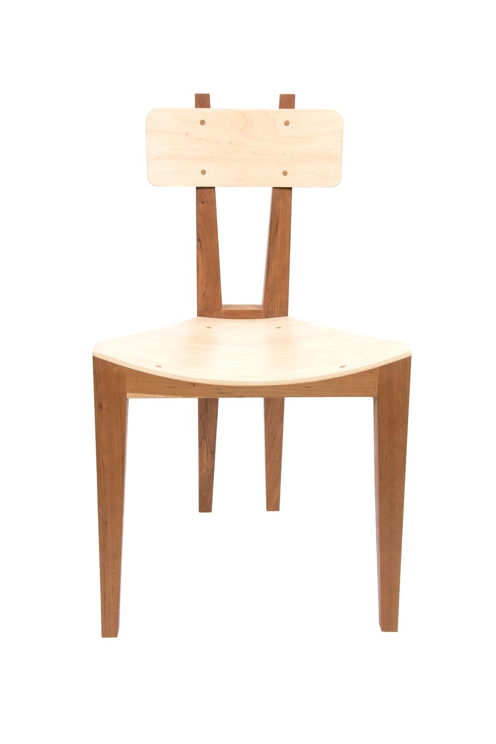 The Critz Chair (2015) Cherry, Bent Plywood
