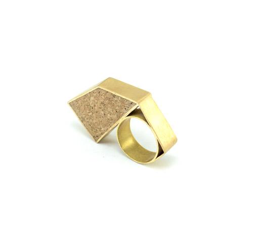 Ring02_Cork, Copper, Brass (2016)