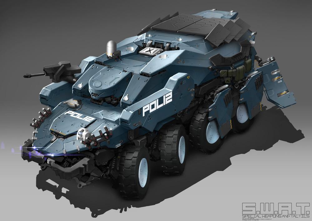 SWAT APC