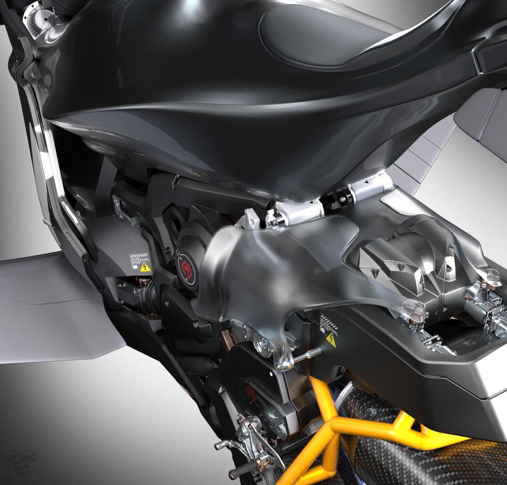 Hoverbike Closeup