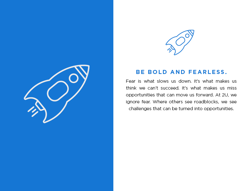 Be Bold and Fearless