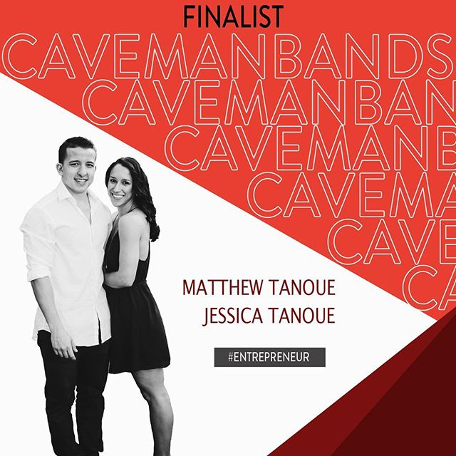 FINALIST FEATURE: CAVEMAN BANDS Edition. This power couple is taking on PITCH Traction Track with a business built on love. Watch how they have revised wedding rings 💍Tuesday, March 26 @ 6PM in UTCC‼️👏🏽