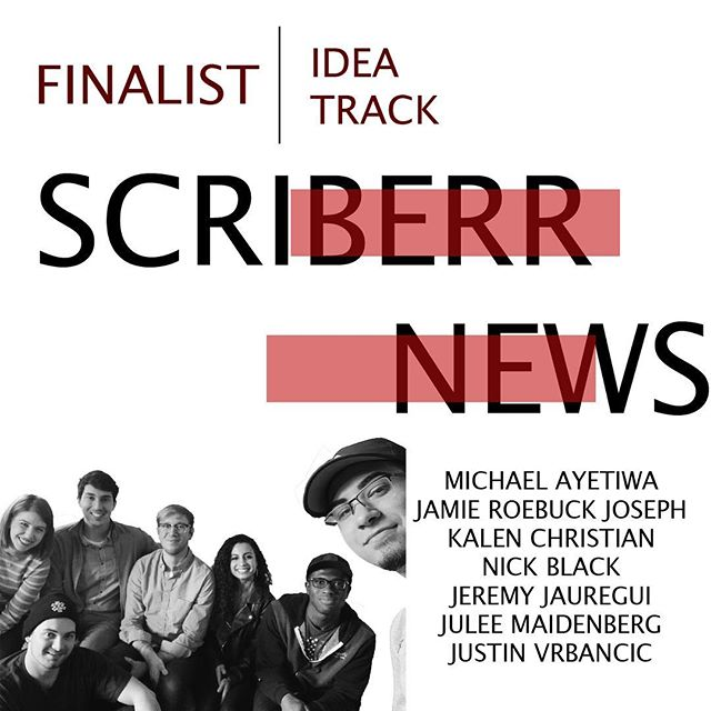FINALIST FEATURE: SCRIBERR NEWS Edition. This team of innovative journalists is taking on Idea Track by pursuing all sides of the truth. Find out how they plan to further digitalize the news Tuesday, March 26th @ 6PM in UTCC❗️🗞🗣