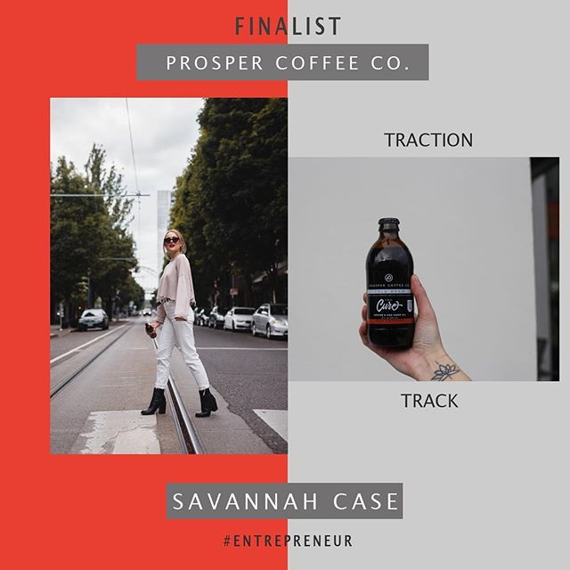 FINALIST FEATURE: PROSPER COFFEE CO. Edition. This business woman is taking on Traction Track with tons of energy from her own supply, cold brew coffee! Watch her prosper Tuesday, March 26th @ 6PM in UTCC❗️☕️❗️