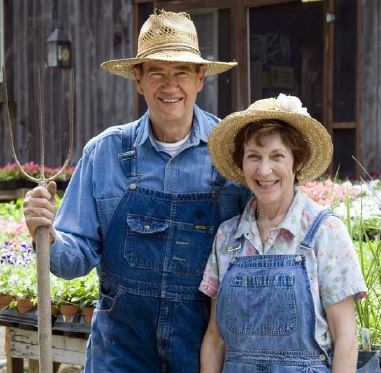 John and Lynn Holbrook Owners of Holbrook Farm, Bethel, CT