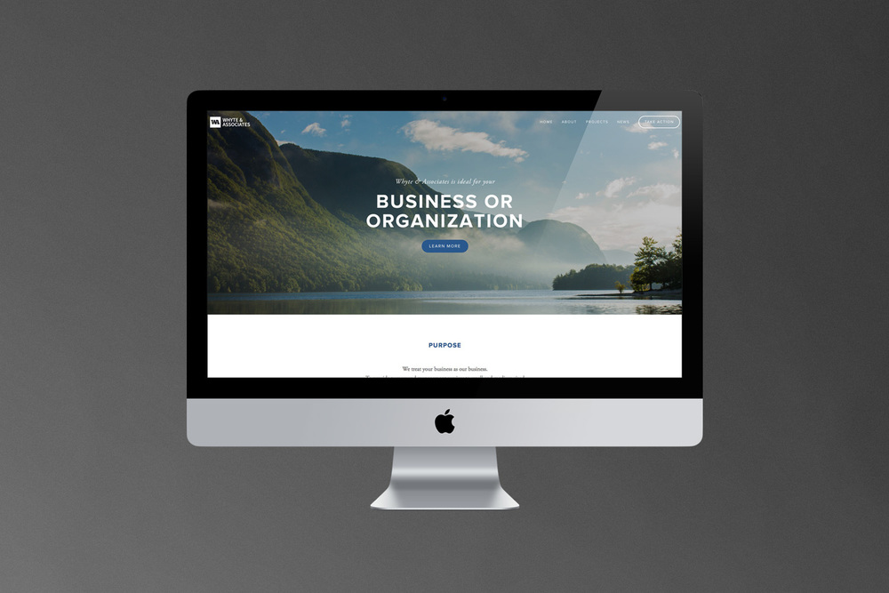Whyte and Associates // Website