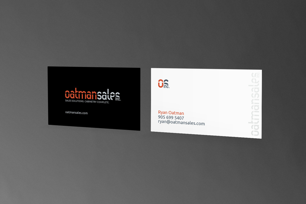 OatmanSales // Business Card