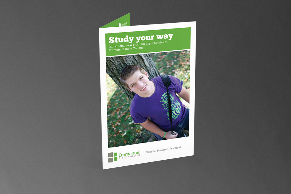 Emmanuel Bible College // Brochure