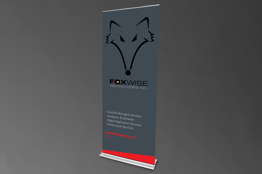 FoxWise Technologies Inc. // Retractable Banner