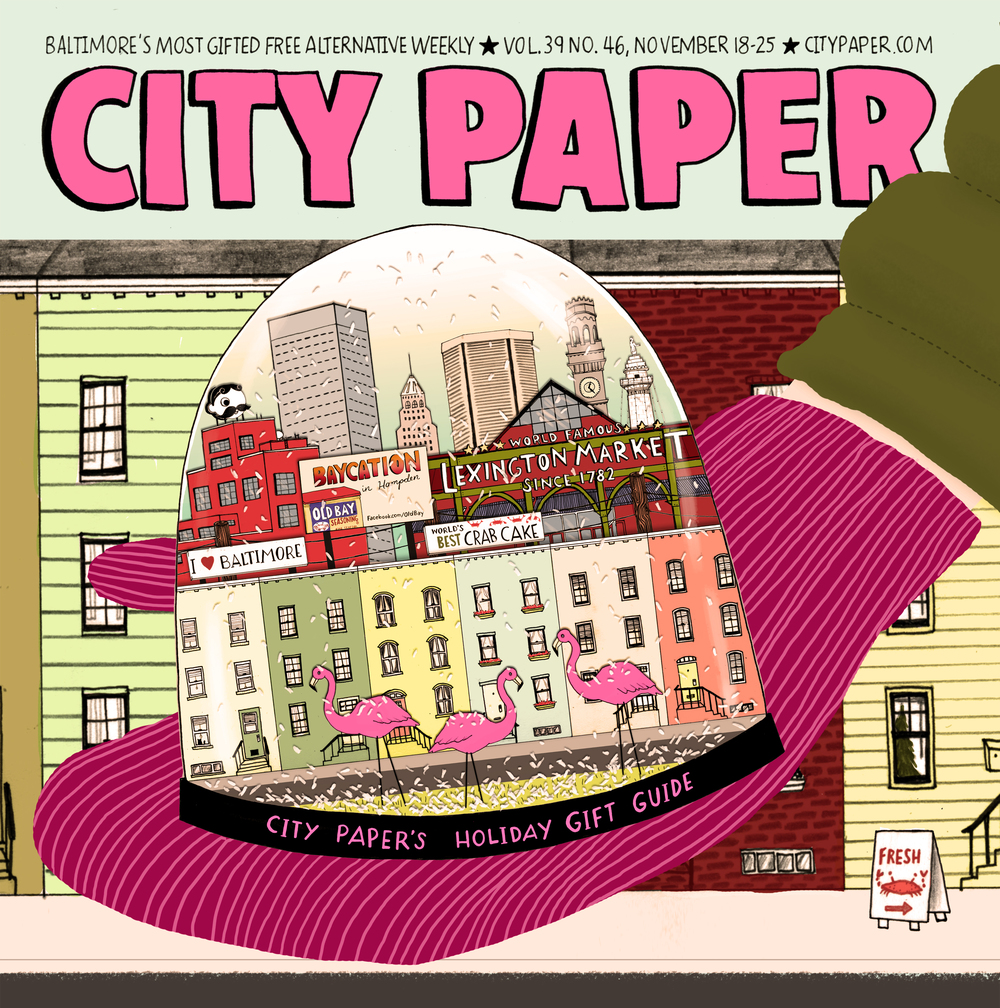 Baltimore City Paper: Holiday Gift Guide