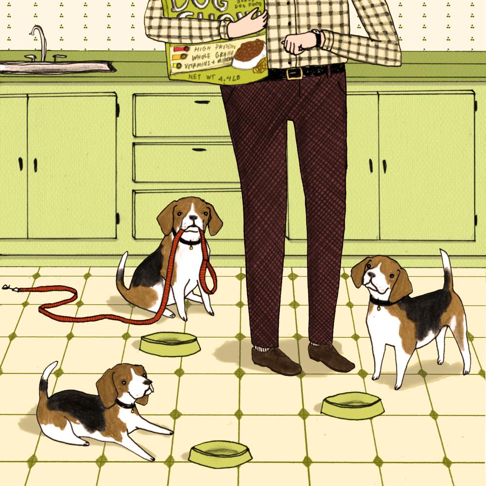 Beagles for The Bark Magazine