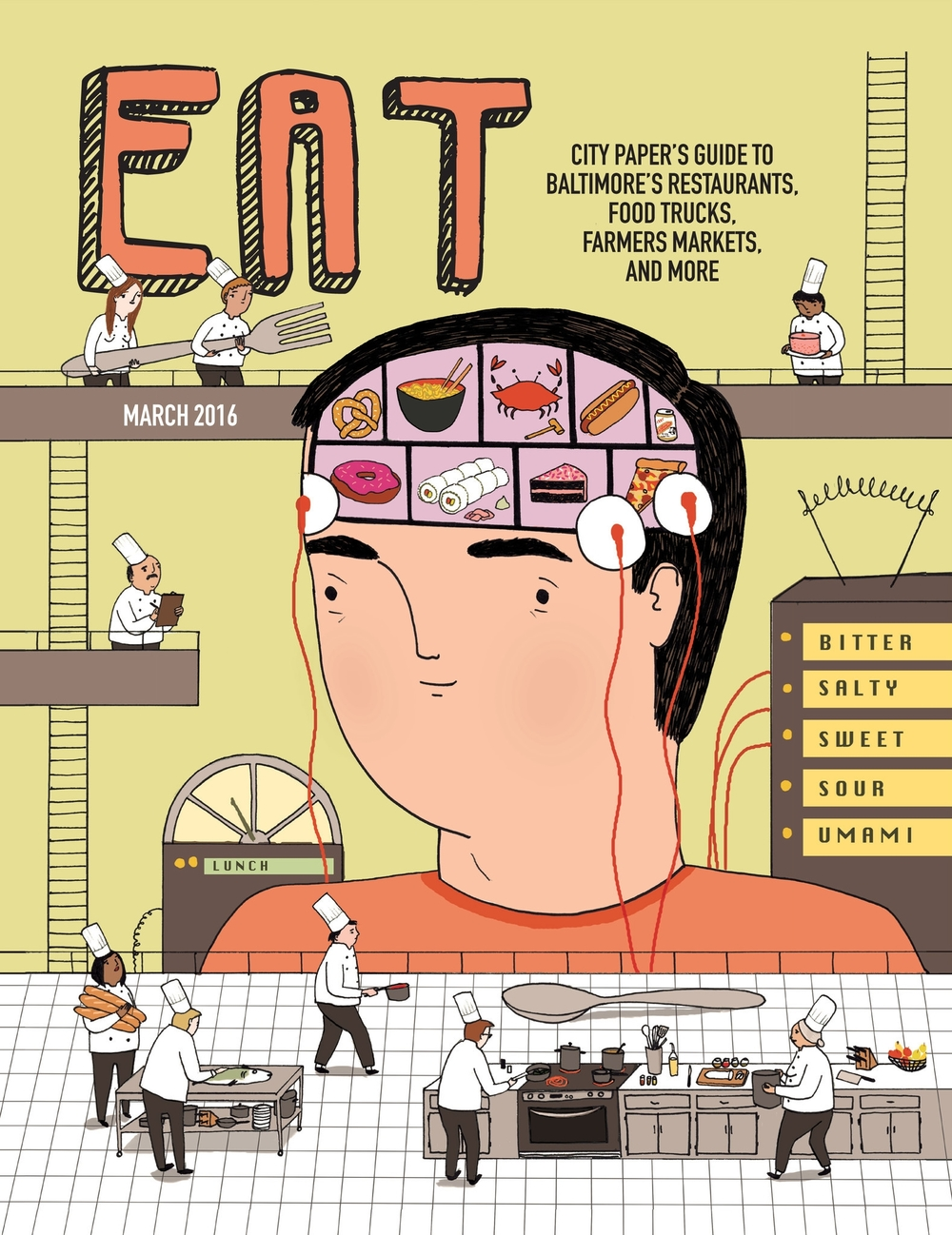 Eat Dining Guide 2016 for City Paper