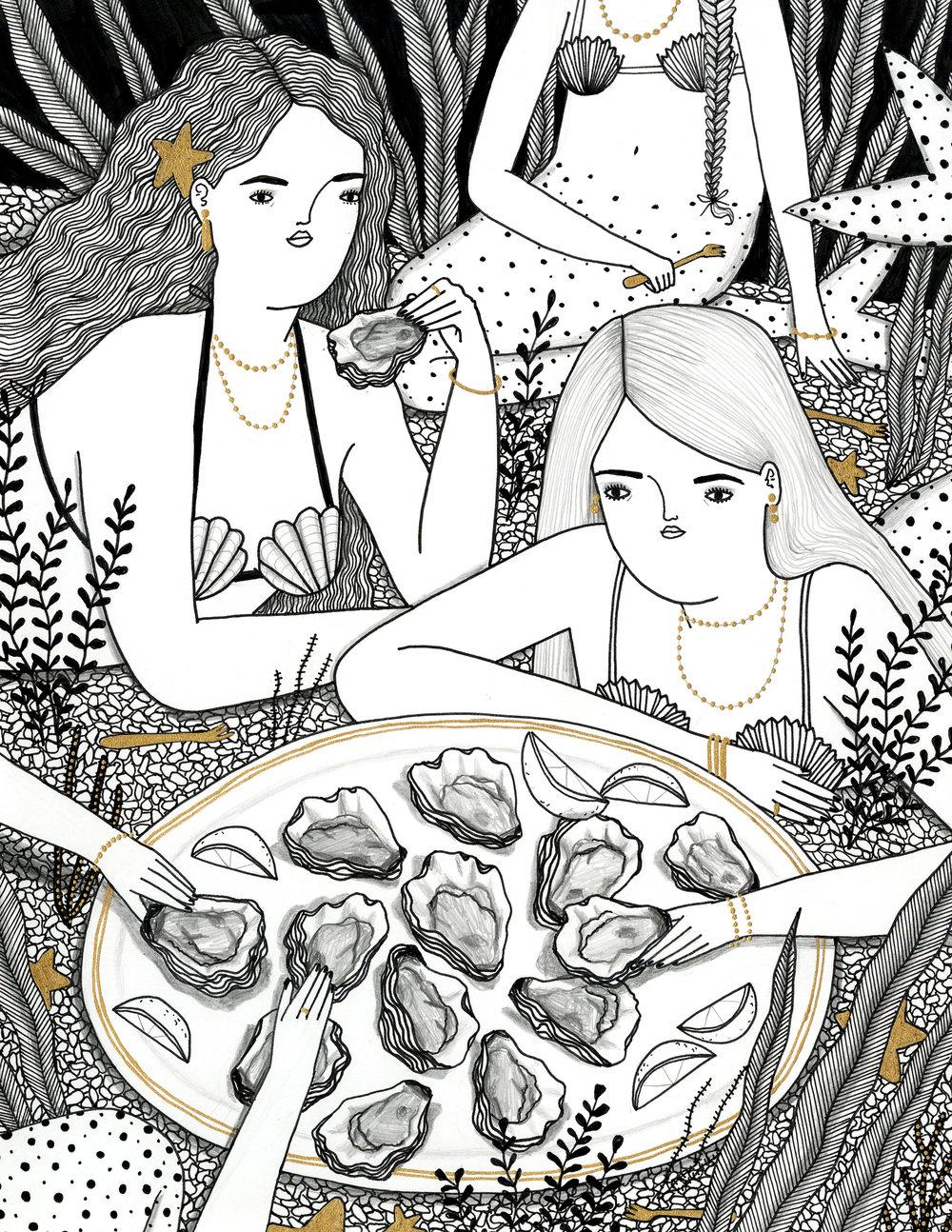 Oyster Mermaids
