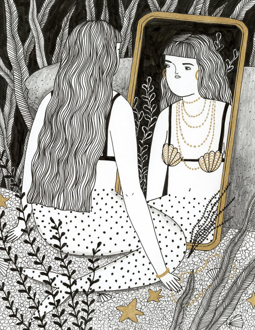Mirror Mermaid