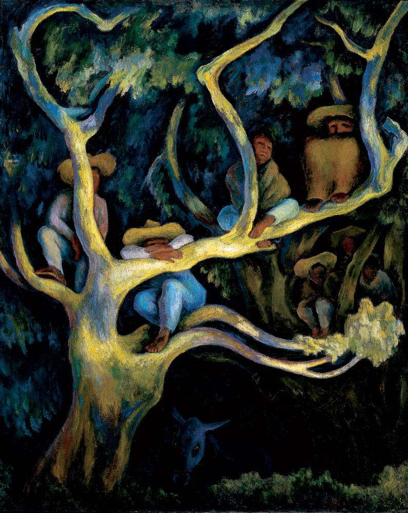 Diego-Rivera_Paisaje-nocturno_1947