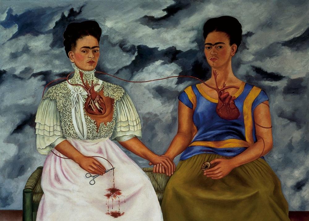 Frida Kahlo---Las-dos-Fridas-1939
