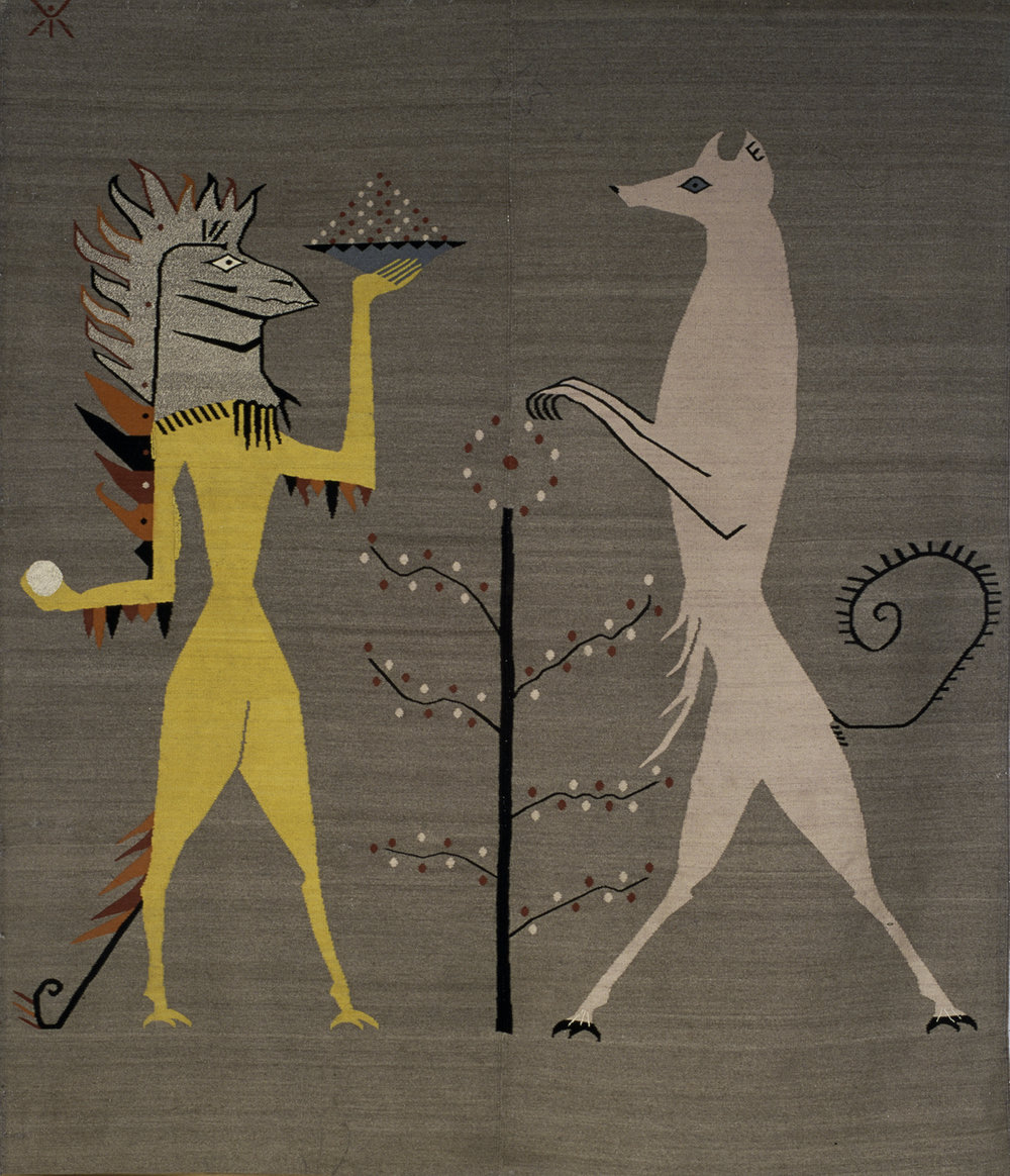 Iguana and Fox  (For Edward James), 1948-1958