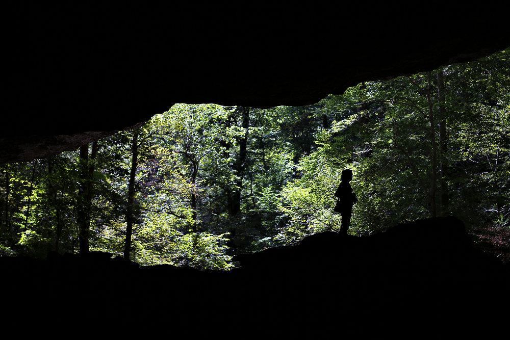 Lost Valley Trail in Arkansas. Sept. 25, 2016.