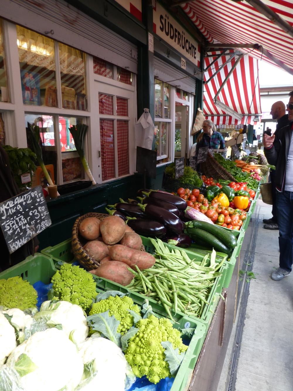 Naschmarkt Market Vienna Wien