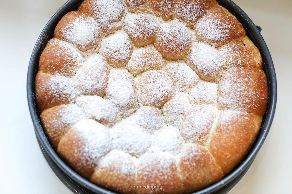 Austrian Dessert Buchteln Recipe