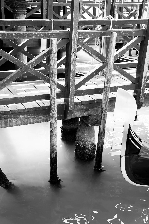 Black and White Venice