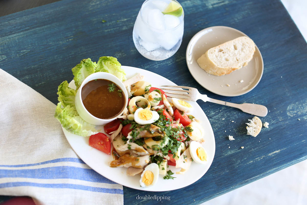 Chicken Palm-heart Salad