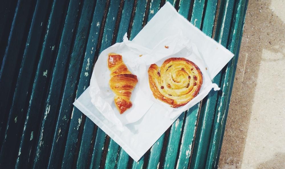 Boulangerie du Pain et des Idees croissant