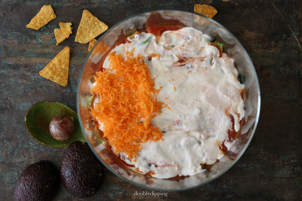 7 layer summer dip recipe