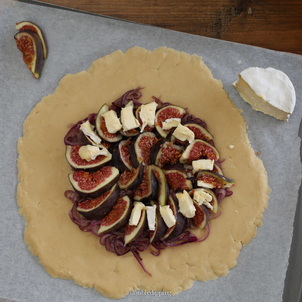 Fig and Cheese Galette