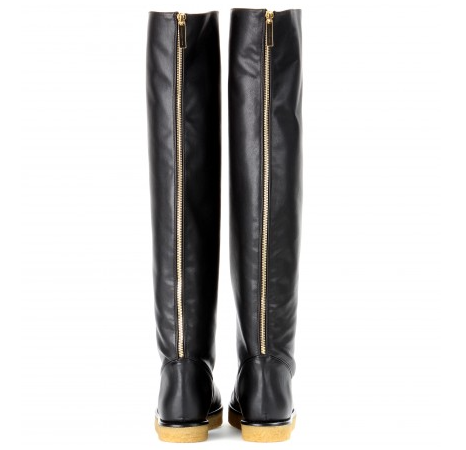 The trendy faux leather over knee by Stella McCartney for long comfortable walks and a clear conscience