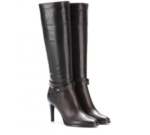 I love the two tones of this boot and the heel size