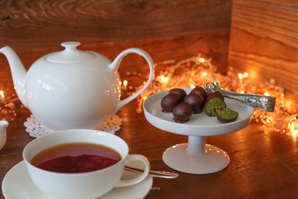 Serve them with some black tea no sugar or milk and enjoy
