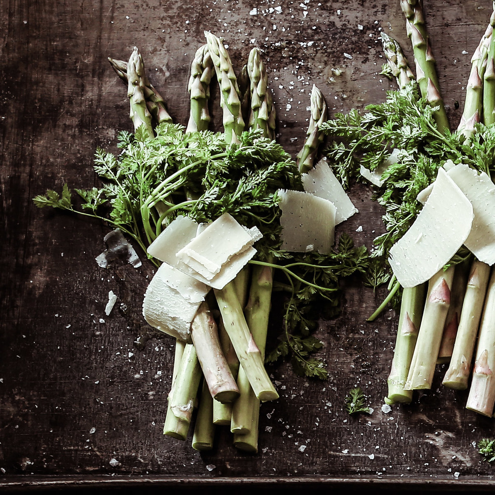 Asparagus with chervil