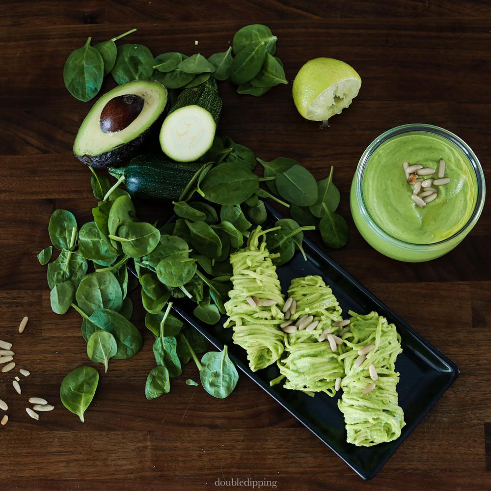 Avocado Zucchini Sugo