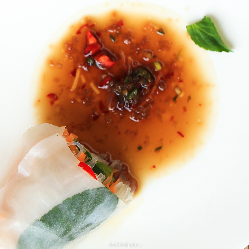 Vegan Vietnamese Springrolls