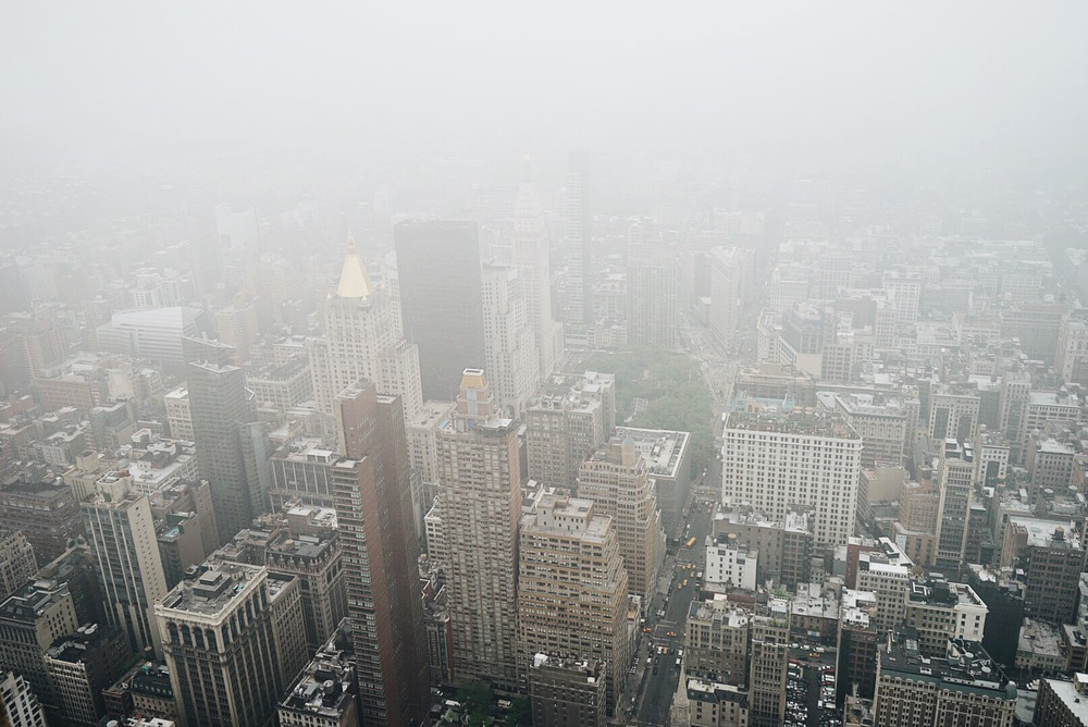Empire State Building Fog