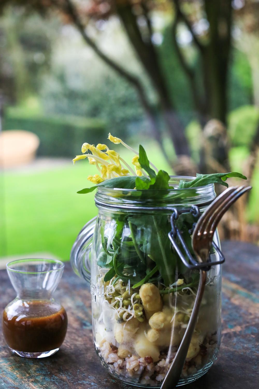 Asperagus Rice salad