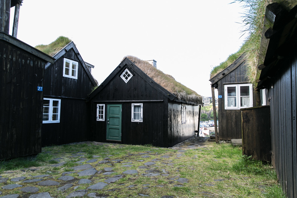 typical faroe house