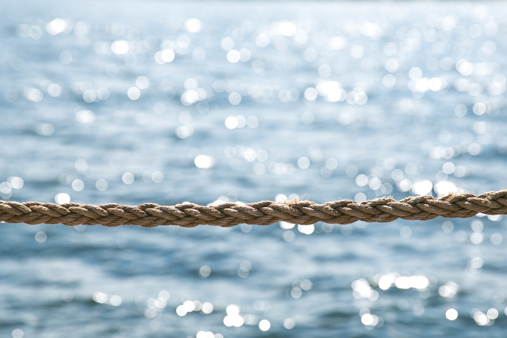 Rope and sea
