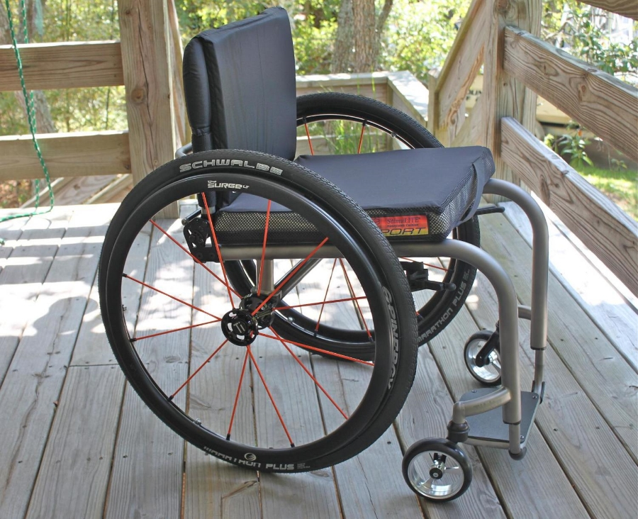 "TILITE ZRA ""SPORT"" MANUAL WHEELCHAIR"