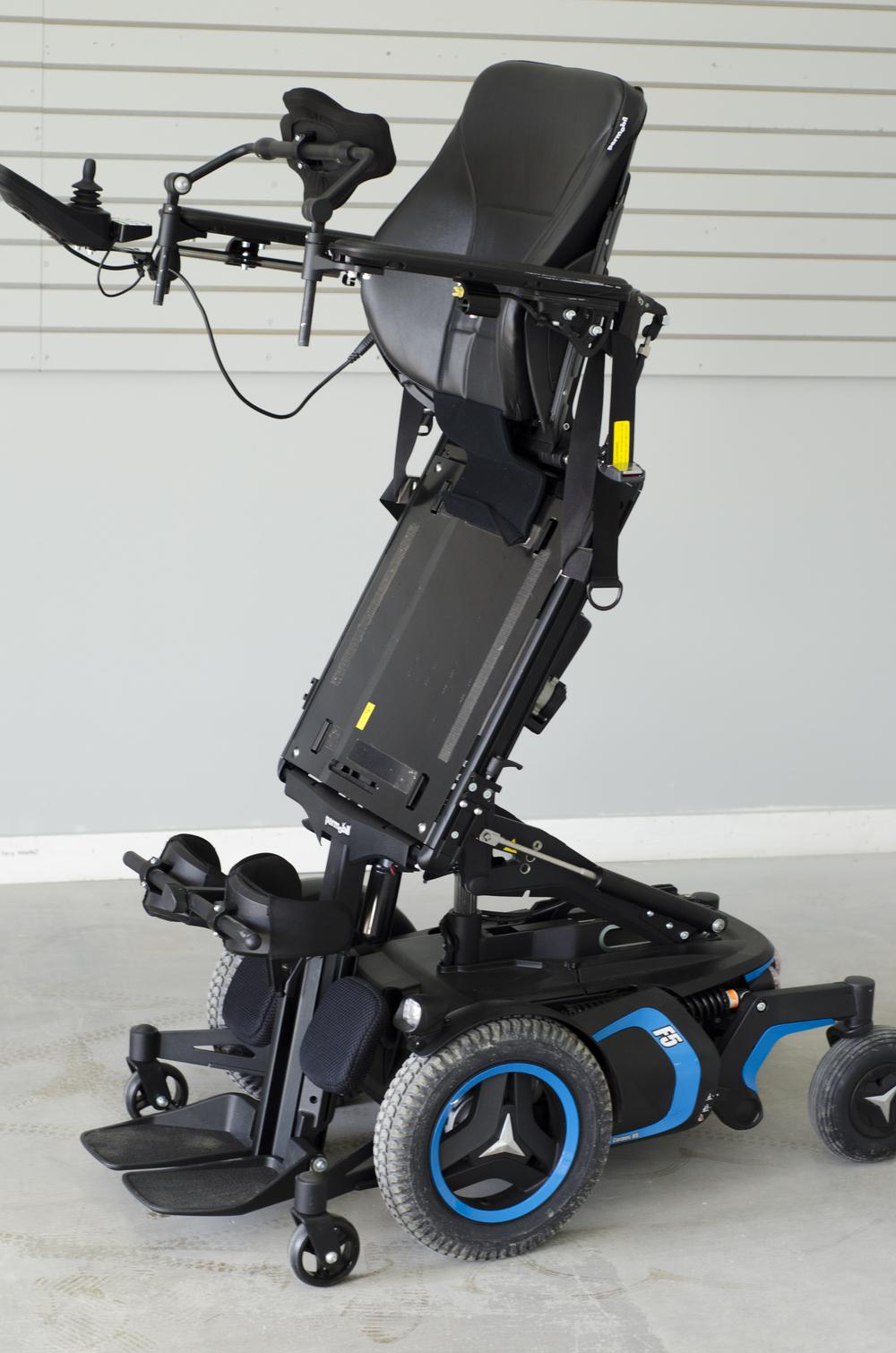 Permobil F5 Corpus VS Standing Powerchair