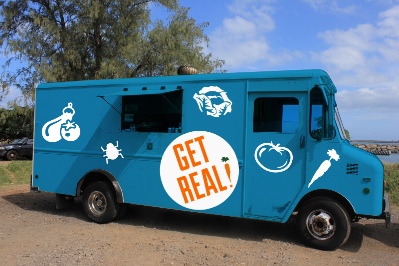 The Get Real Mobile to deliver all your CSA needs.  Strategic Design Thinking: Robin Newman   Designers: Kelly Parker,Datrianna Meeks  Code and Developer:Johnny Austinand Matt Tyrell