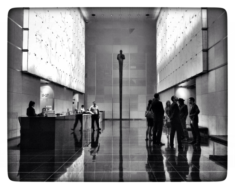 Foyer, Governor Macquarie Tower