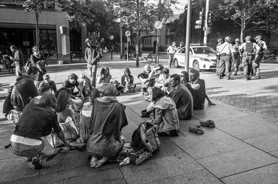 Occupy Sydney 2011