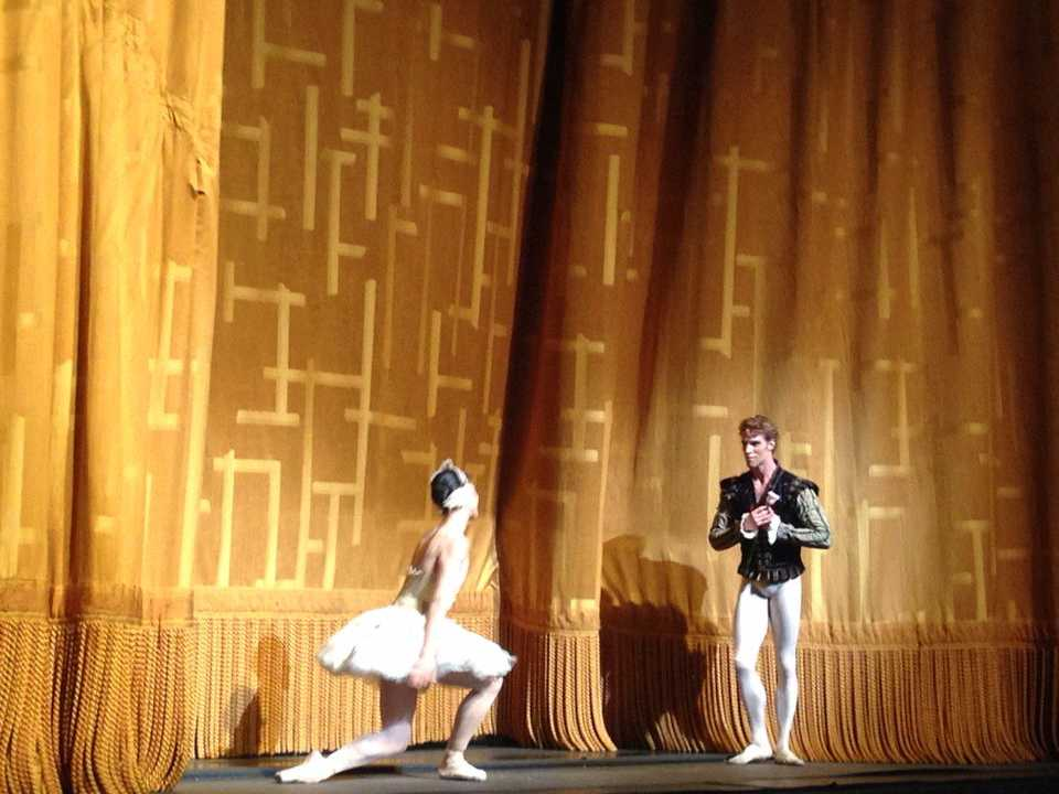 James Whiteside & Paloma Herrera in  Swan Lake .