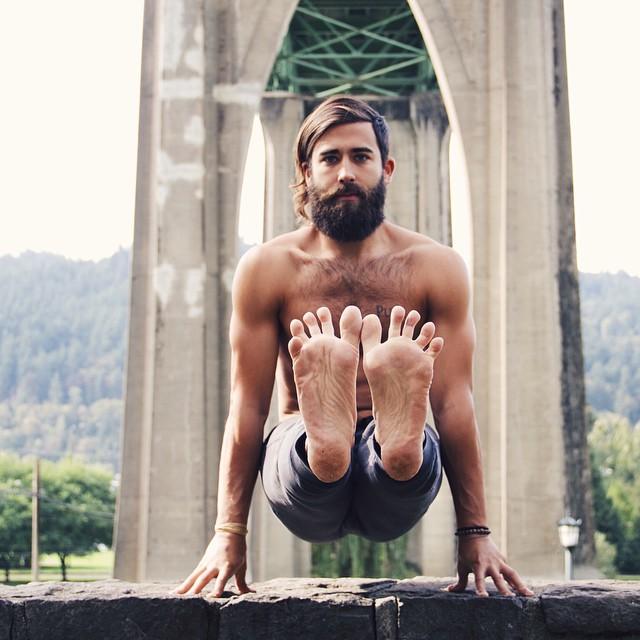 patrick yoga pose