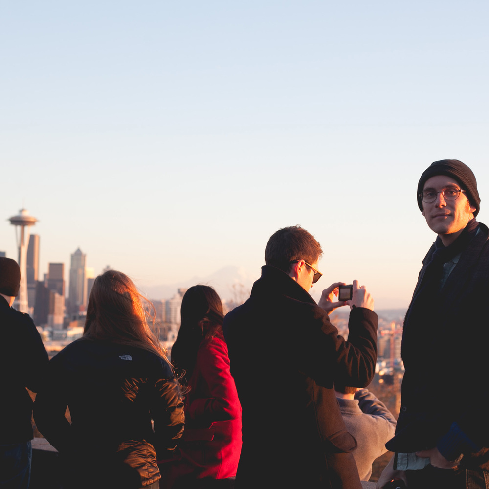 Kerry Park with Wyatt and Drew